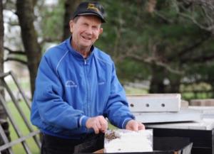 Bee keeper Ron Stucke 2018