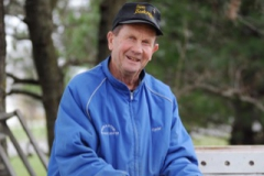 Bee keeper Ron Stucke 2018