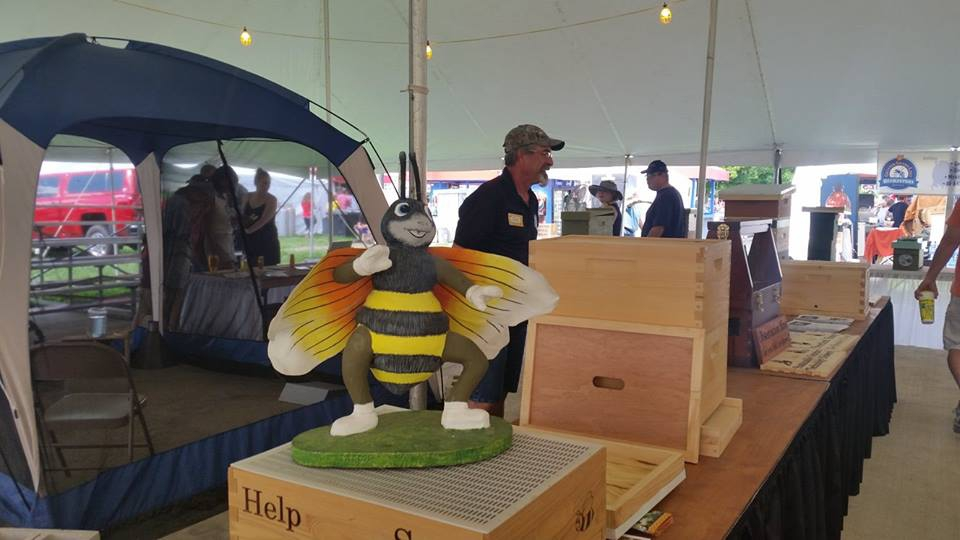 Other State Fair beekeeping displays
