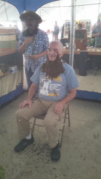 Mike in full beard.