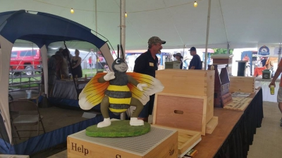Other State Fair beekeeping displays